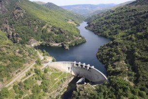 Barrage de Roujanel - (c) Photo EDF - Claude Fougeirol