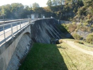 Barrage de Confolent - (c) Photo BETCGB