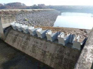 Barrage de Louet - (c) Photo : DREAL Nouvelle Aquitaine